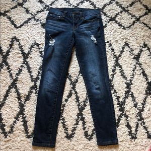 Aéropostale Ripped Skinny Jeans
